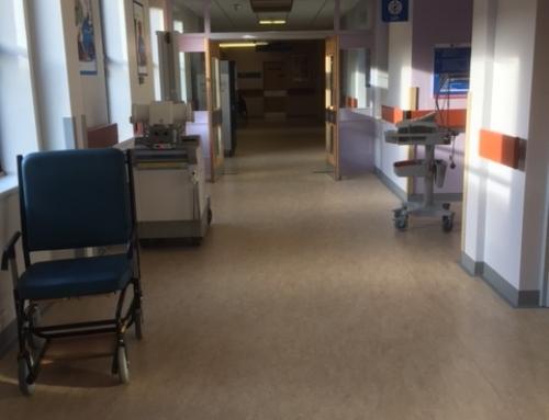 First floor corridor, Fairfied General Hospital